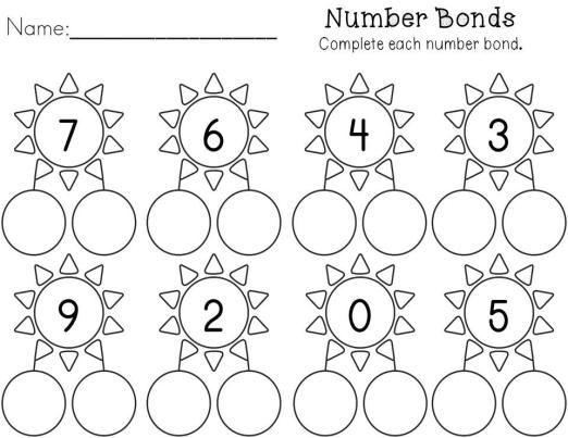 Kindergarten Spring Math Printables - NO PREP!