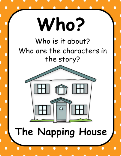 Substitute Lesson Plans Kindergarten – The Napping House Lesson Plans