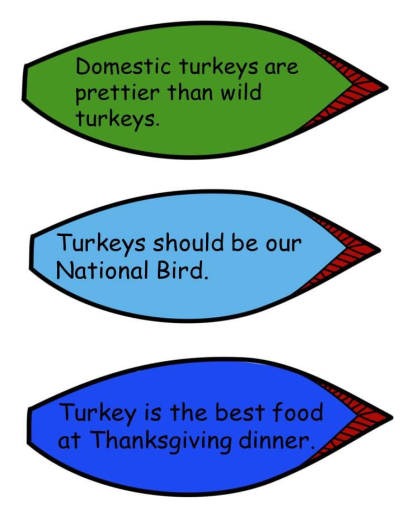 Comprehension Review-Thanksgiving Turkey Theme