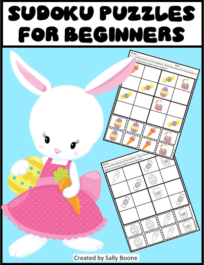 Sudoku Puzzles for Beginners Easter