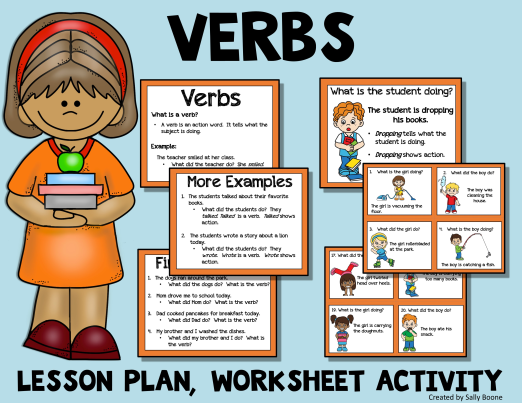 Verbs - Lesson Plan, Resources And Activity