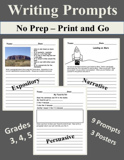 expository and narrative writing