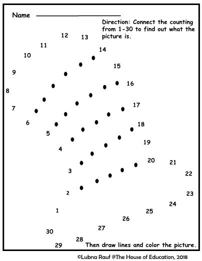 Dr. Seuss Dot To Dot Activity Sheets