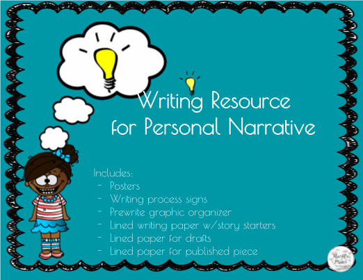 Personal Narrative Writing Resource