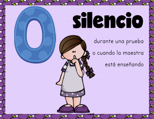 photo relating to Voice Level Chart Printable identify Voice Issue Clip Chart in just Spanish