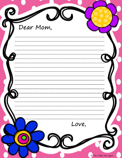 letter to mom for mothers day