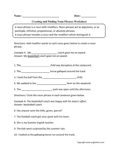 Creating-Finding-Noun-Phrases-Worksheet
