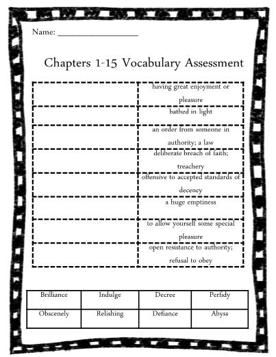 the tale of despereaux study guide free