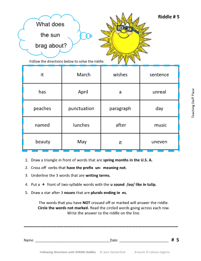 Prefixes and Suffixes Teaching Ideas for First Grade and ...