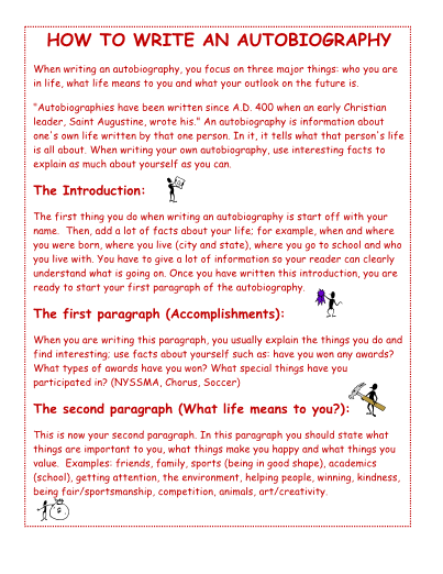how to write an introduction for an essay biography