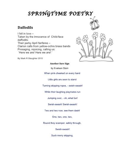Poetry Figurative Language Activities