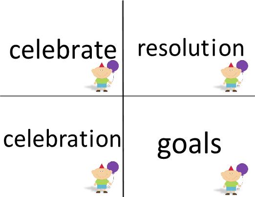new year word work activities