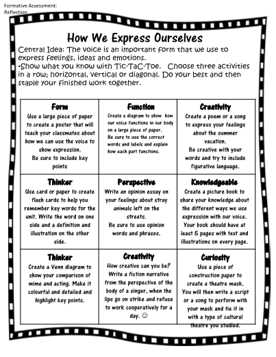 Teaching resources printables worksheets and more teachersherpa tic tac toe homework for early finishers sciox Choice Image