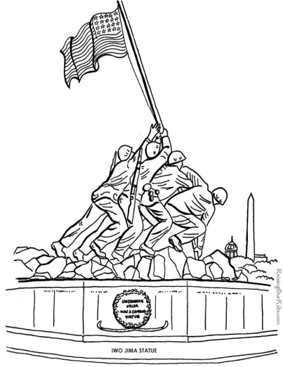 Veterans Day Coloring Pages I TeacherSherpa