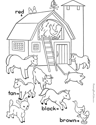 printable sight words coloring page