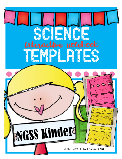 Interactive Notebook Templates Kinder - Interactive notebook templates