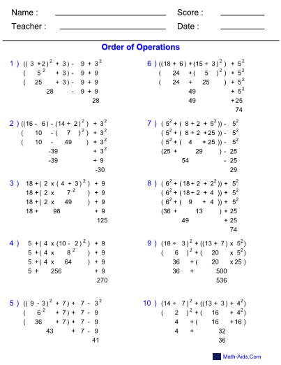 Addition Without Carrying V moreover Metric Isometric Dot Paper Large Mm moreover Grade Add Three Or Digit Numbers In Columns likewise Ooo Mas Integers Foursteps Positive Pin furthermore Figb. on order of operations worksheets