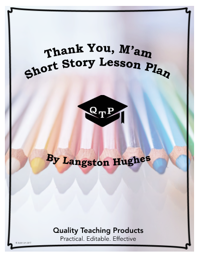 thank you ma am by langston hughes story