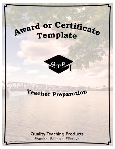 Editable award or certificate template free editable award or certificate template yelopaper Gallery