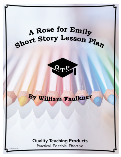 A Rose For Emily Free Worksheet And Key