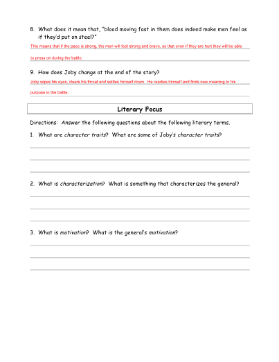 image regarding Shiloh Worksheets Printable identify The Drummer Boy of Shiloh Lesson and Major