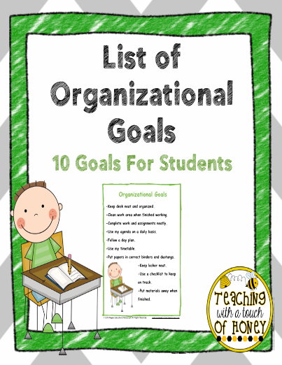 list of organizational skills