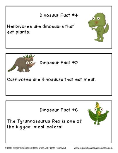 Dinosaur Scavenger Hunt