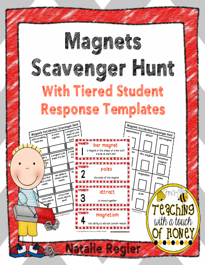 Magnets Scavenger Hunt & Tiered Response Templates