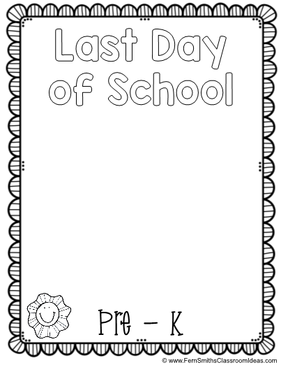 to School Coloring Page First Day of School