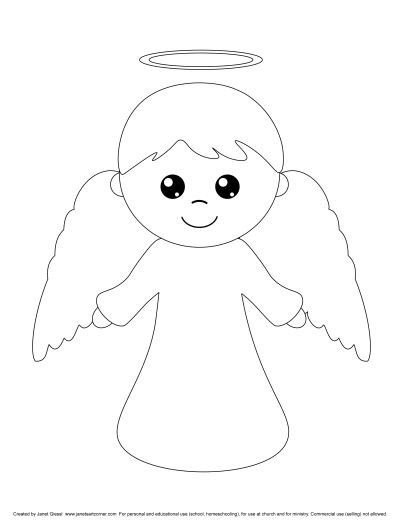 Nativity Coloring Pages | 522x403