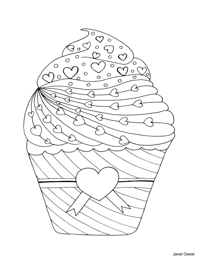 Valentine's Day Coloring Pages And Coloring Cards