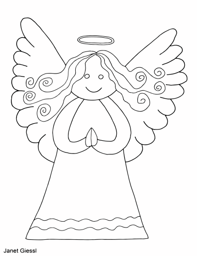Cute Christmas Coloring Pages And Cards