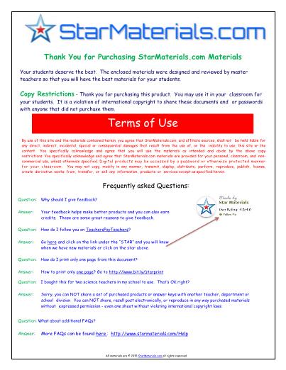 Worksheet For Bill Nye Flowers Video Differentiated Worksheet
