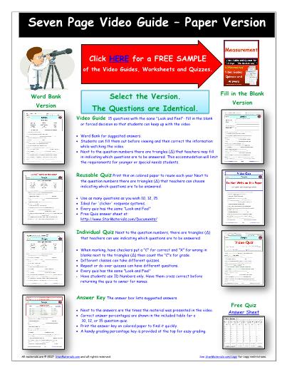 Worksheet for Bill Nye - Friction * Video Differentiated Worksheet