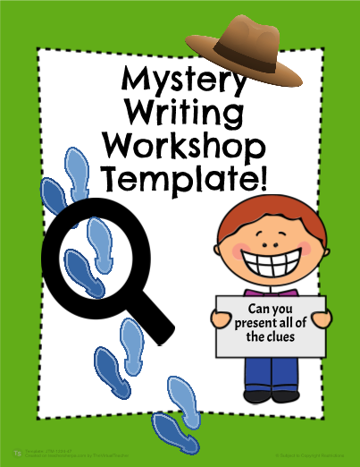 Mystery Writing Templates!