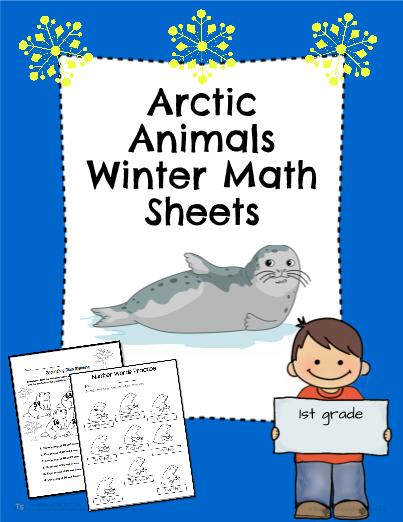 Arctic Animals Winter Math Practice