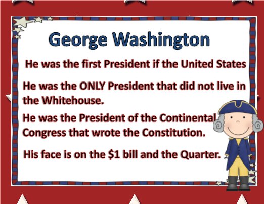 all about presidents day powerpoint