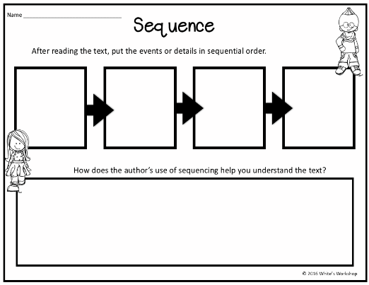 Sequencing graphic organizer ccuart Image collections