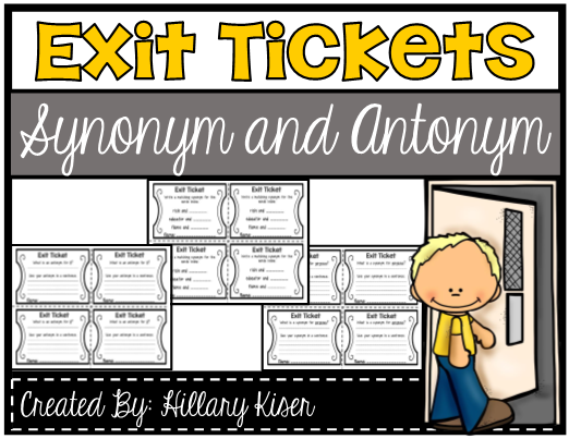 Antonyms Worksheets L FREE Teacher Resources, Activities & Worksheets